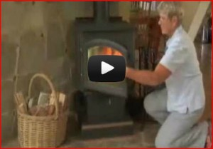 most efficient operation of wood stove video