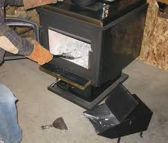 cleaning wood stove