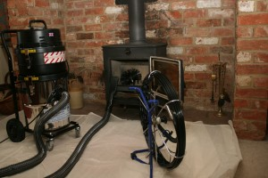 maintenance wood stove professional